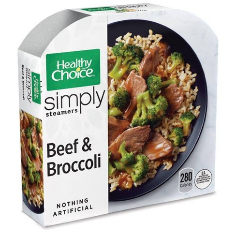 Healthy Choice Simply Steamers Frozen Beef & Broccoli - 10oz - image 1 of 3