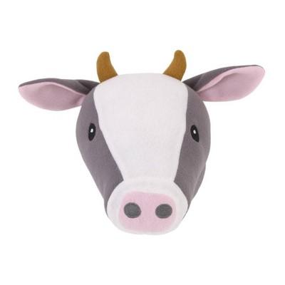 Little Love by NoJo Cow Plush Head Wall Decor