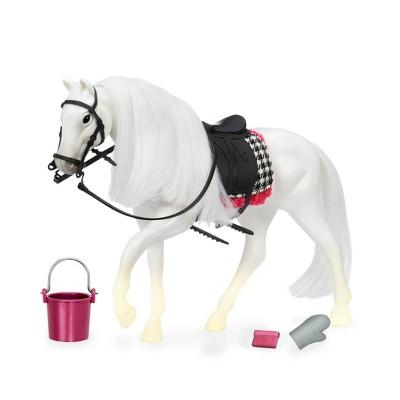 Lori Doll Horse with Accessories - Camarillo Horse White