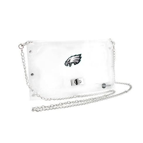 NFL Philadelphia Eagles Clear Envelope Purse - image 1 of 1