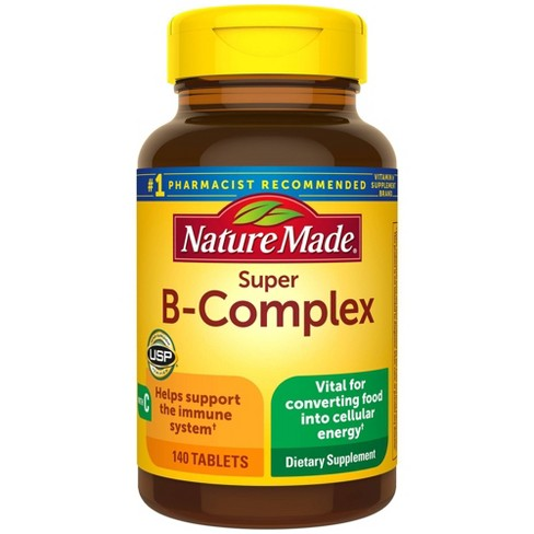 Nature Made Super B-Complex Tablets - 140ct - image 1 of 4