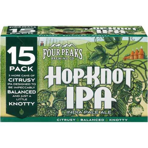 Four Peaks Hop Knot IPA Beer - 15pk/12 fl oz Cans - image 1 of 1