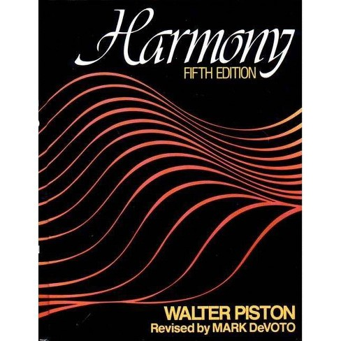 Harmony - 5 Edition by  Walter Piston (Paperback) - image 1 of 1