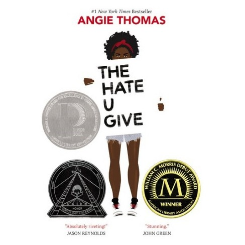 The Hate U Give by Angie Thomas (Hardcover) - image 1 of 1