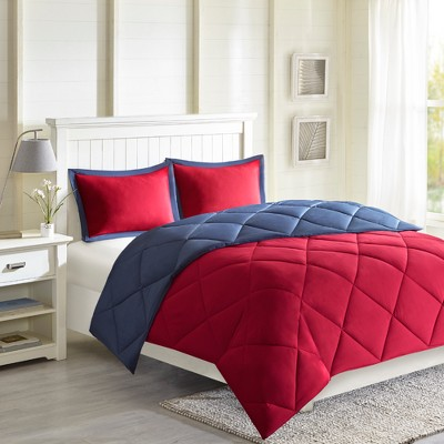 Windsor Reversible Down Alternative Comforter Set with 3M Stain Resistance Finishing