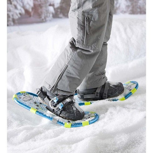 Kids' Sturdy Ultra-lightweight Snow Shoes with Single Ratchet Fastener -  HearthSong