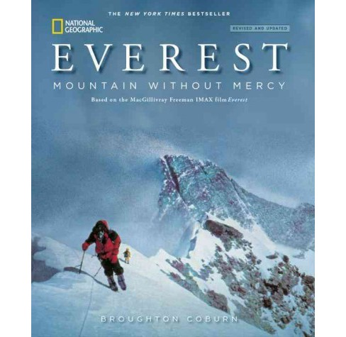 Everest : Mountain Without Mercy (Revised / Updated) (Paperback) (Broughton Coburn) - image 1 of 1