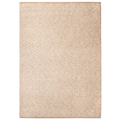 Area Rug Diamond Natural 7'x10' - Threshold™