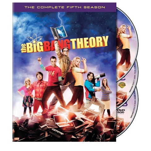 The Big Bang Theory: The Complete Fifth Season (DVD) - image 1 of 1