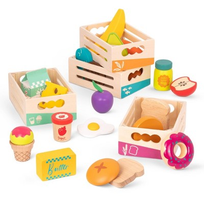 B. toys - Wooden Play Food - Little Foodie Groups