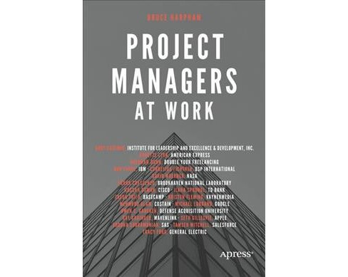 Project Managers at Work -  by Bruce Harpham (Paperback) - image 1 of 1