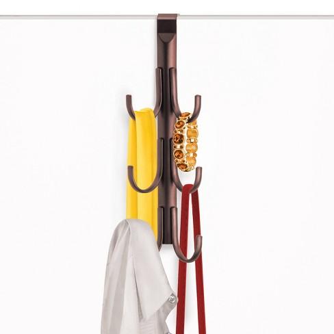Lynk Over Door Hook Rack Jewelry Organizer Vertical 6 Hook Rack - Bronze - image 1 of 3