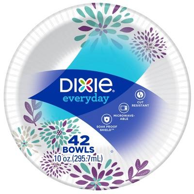 Dixie Everyday Disposable Paper Bowls - 42ct/10oz