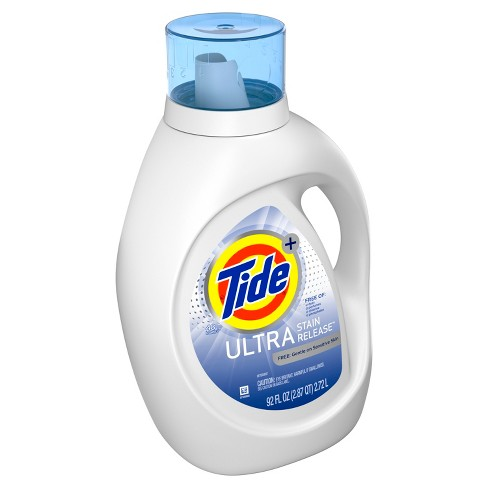 Tide Ultra Stain Release FREE Liquid Laundry Detergent - 92 fl oz - image 1 of 3