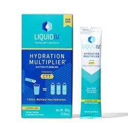 Liquid IV Hydration Multiplier - Lemon Lime - 10ct/0.56oz