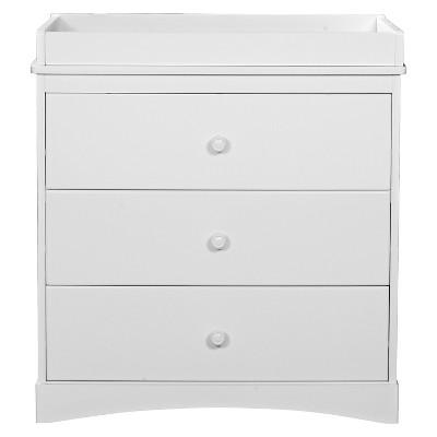 Delta Children® Sutton 3-Drawer Dresser - White