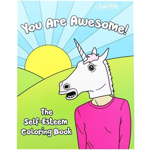 Accoutrements The Self-Esteem Coloring Book - image 1 of 2