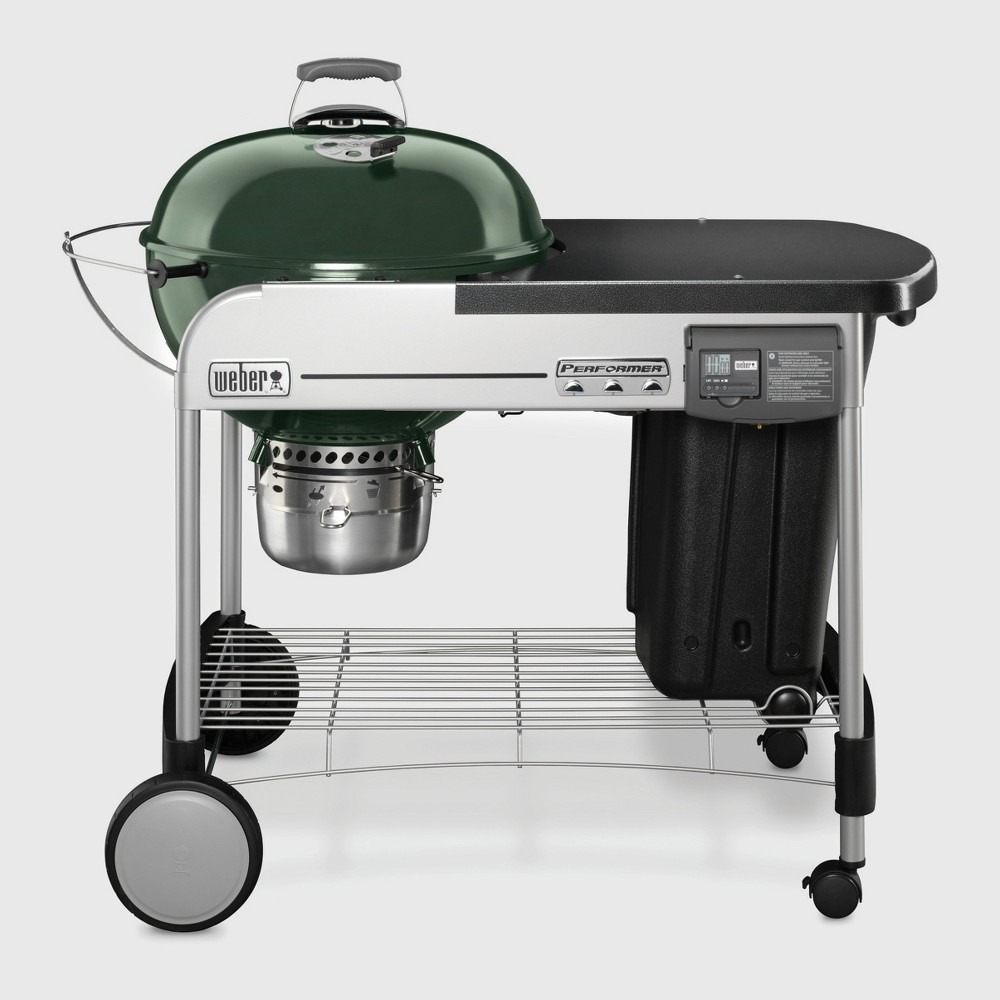 Weber Performer Deluxe Charcoal Grill- Green
