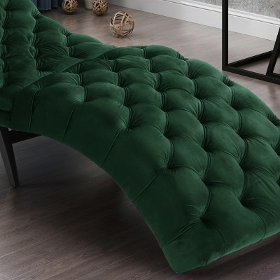 Garret Tufted Chaise Lounge - Christopher Knight Home : Target