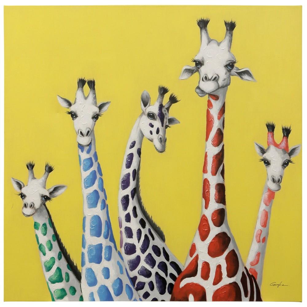48 Giraffe Decorative Wall Art - StyleCraft, Multi-Colored