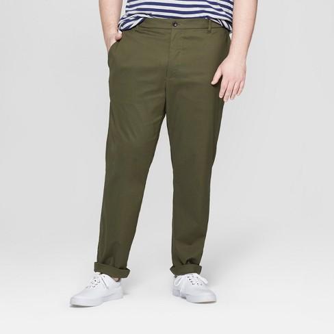 Men's Big & Tall Chino Pants - Goodfellow & Co™ - image 1 of 3