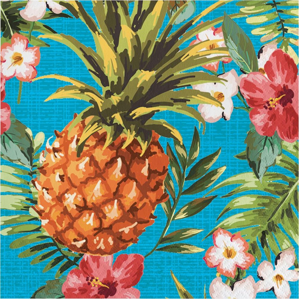 Image of 16ct Aloha Napkins, Disposable Napkins