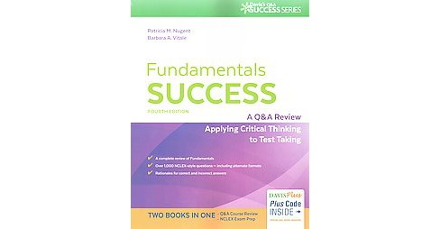 Fundamentals Success : A Q & A Review Applying Critical Thinking to Test Taking (Revised) (Paperback) - image 1 of 1