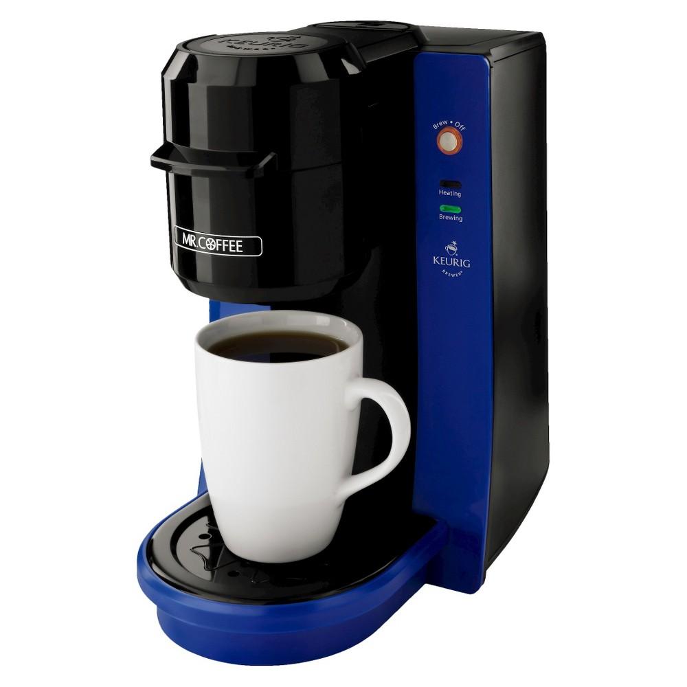 Mr. Coffee Single Cup Brewer 8oz - Blue Bvmc-KG2B
