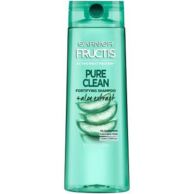 Garnier Fructis Pure Clean Fortifying Shampoo+Aloe Extract - 12.5 fl oz