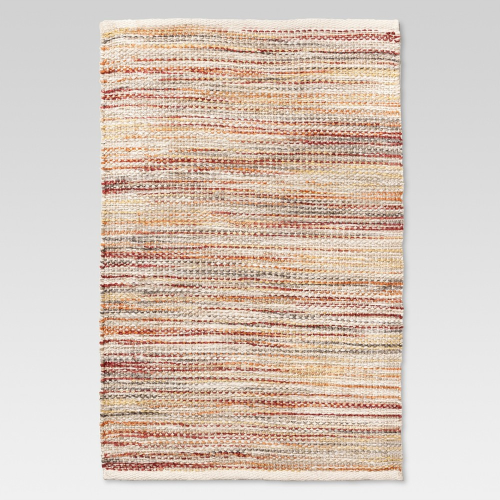 2'X3' Woven Accent Rug Warm Natural - Threshold