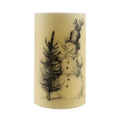 """Christmas 8.0"""" Led Holiday Flameless Candle Battery Operated  -  Flameless Candles"""
