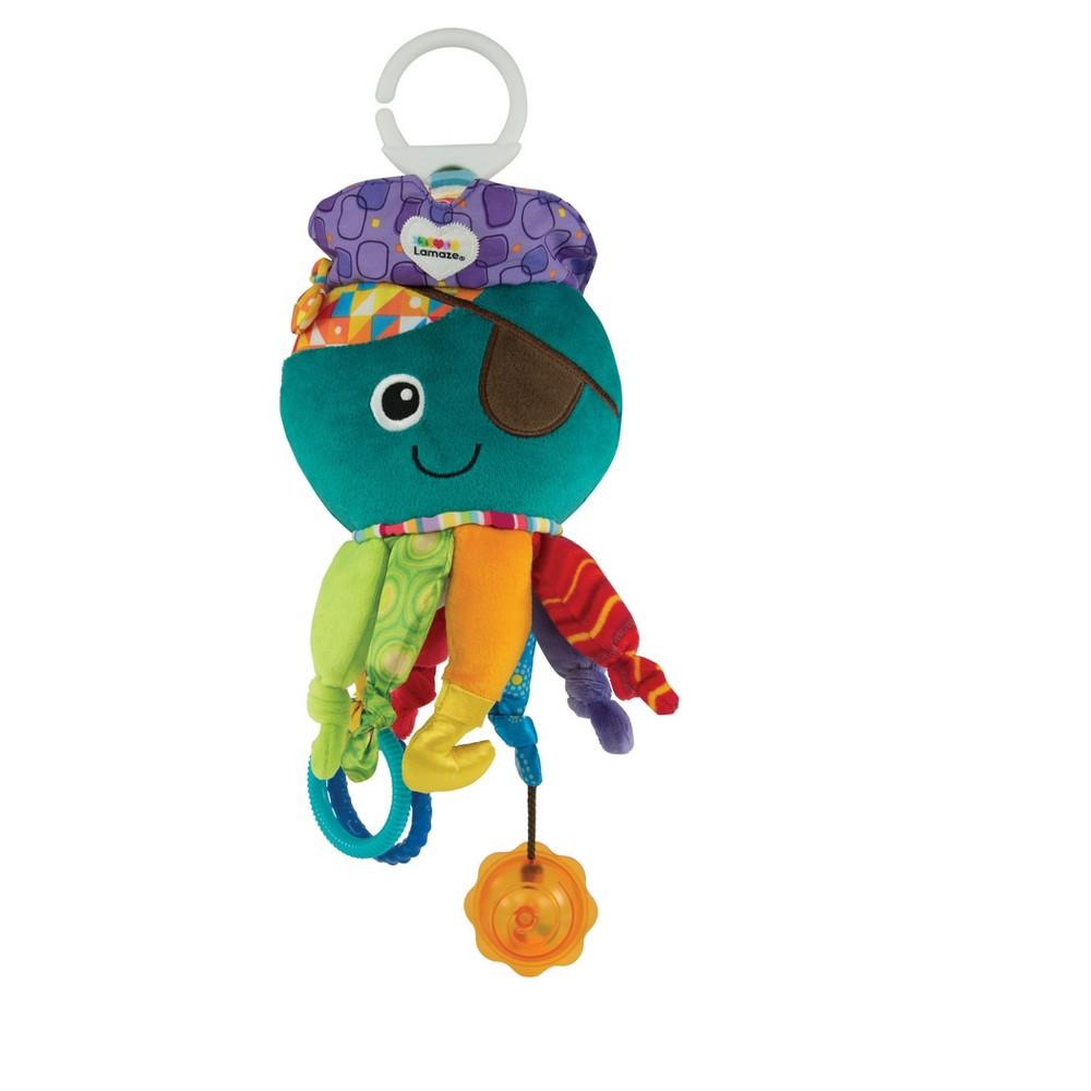 Lamaze Captain Calamari, crib toys and soothers