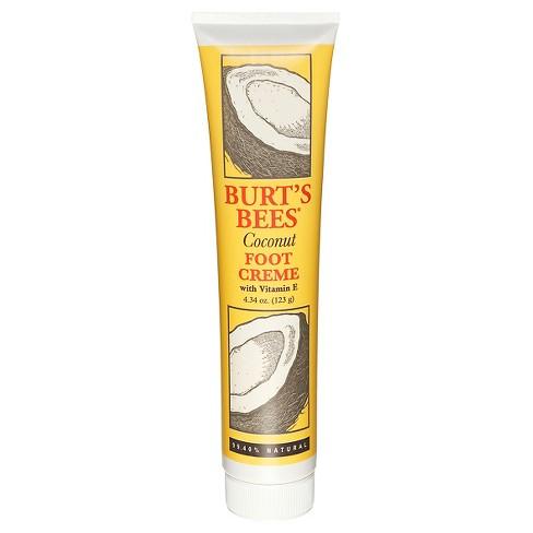 Burt's Bees Foot Cream - Coconut - 4.34 oz - image 1 of 1