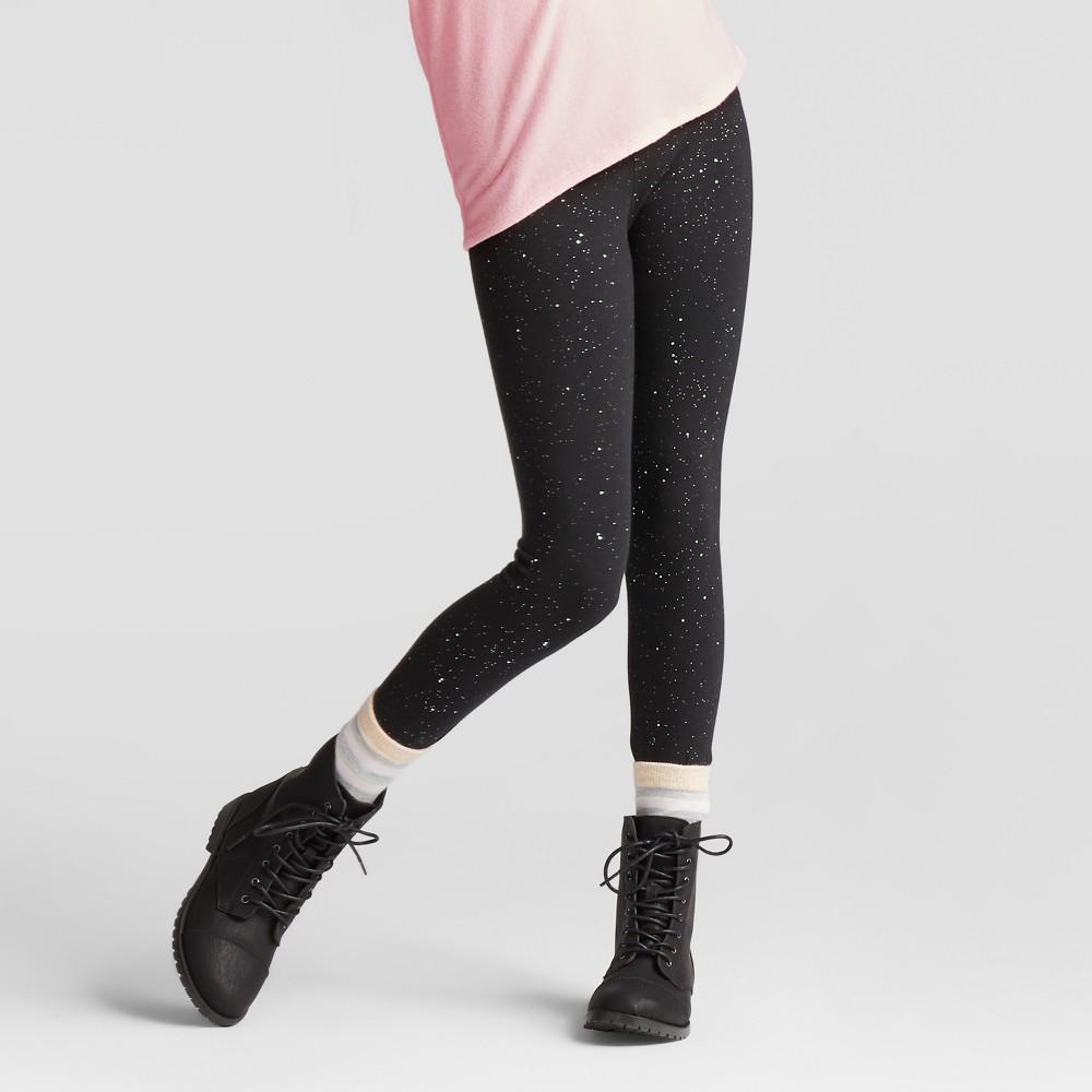 Girls Sparkle Favorite Leggings Cat Jack 8482 Black Xl