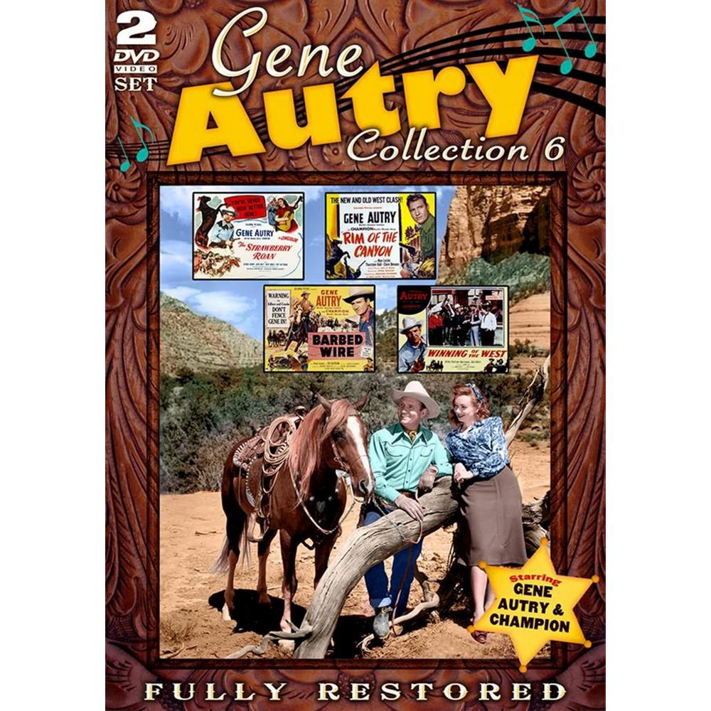 Gene Autry Movie Collection 6 (Dvd)