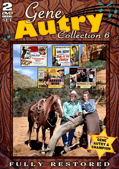 Gene autry movie collection 6 (DVD) - image 1 of 1