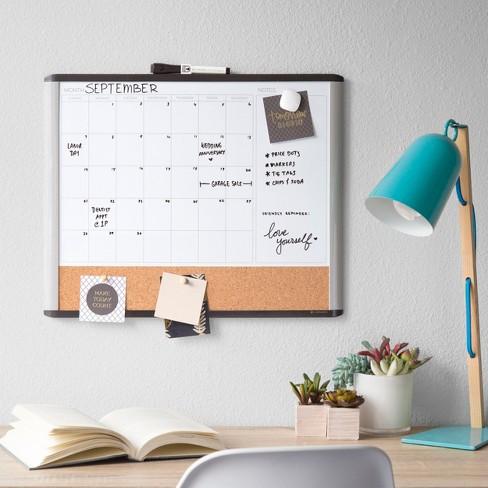 Ubrands MOD Frame 3 n 1 Calendar Board - 16\