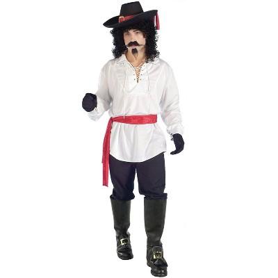 Forum Novelties Swashbuckler Pirate Shirt (White)