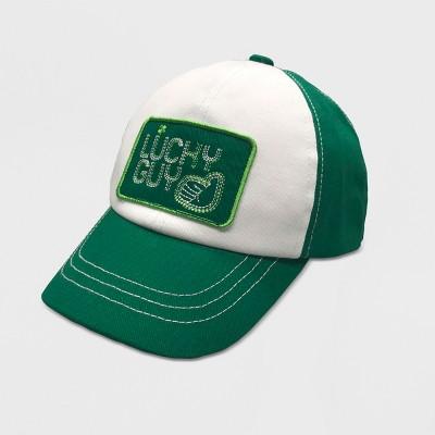 Toddler Boys' St Patricks Baseball Hat - Cat & Jack™ Green 2T-5T