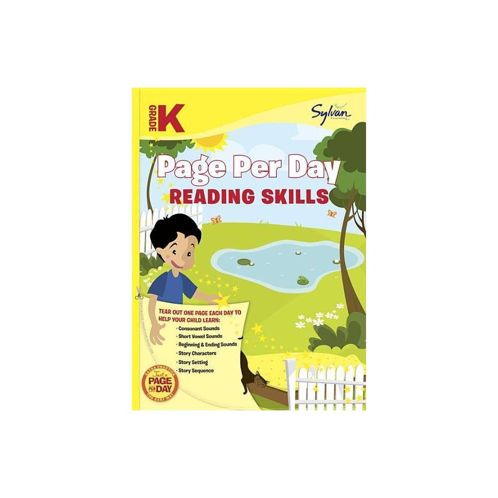 Kindergarten Page Per Day Reading Skills Paperback