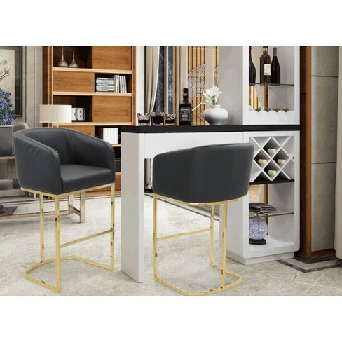 Easly Bar Stool - Chic Home - image 1 of 4