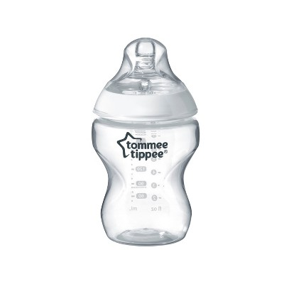 Tommee Tippee Closer To Nature Baby Bottle 9oz - Clear