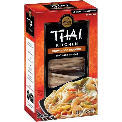 Thai Kitchen Gluten Free Brown Rice Noodles - 8oz