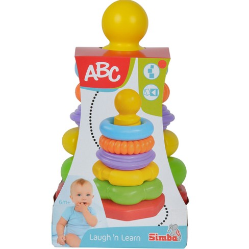 Simba ABC - Stacking Ring Pyramid Set of 7 - image 1 of 4