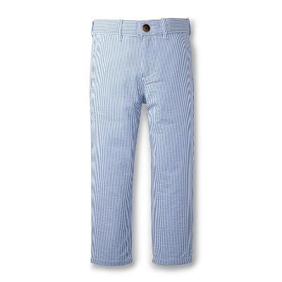 Hope & Henry Boys' Seersucker Suit Pant, Toddler