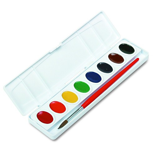 prang oval pans professional watercolors multi colored target