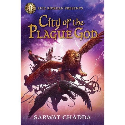 City of the Plague God - by  Sarwat Chadda (Hardcover)
