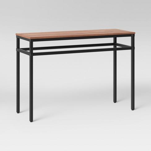 Ellsworth Wood Metal Console Table Threshold Target