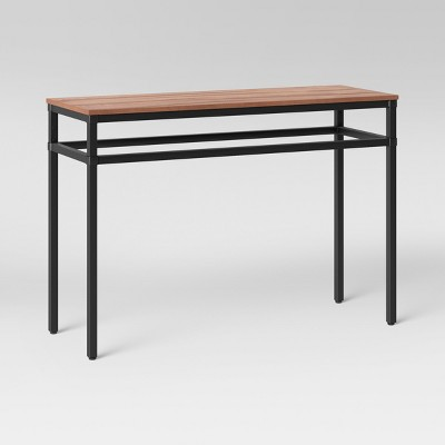 Superbe Ellsworth Wood/Metal Console Table   Threshold™