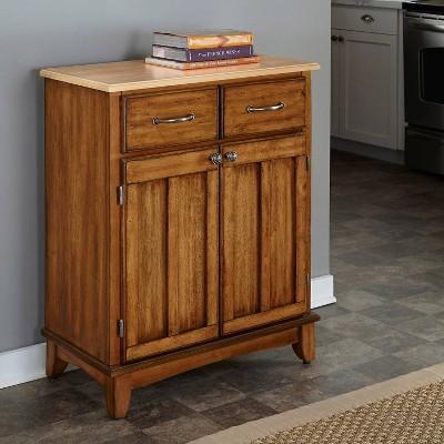 Wood Top Sideboard Buffet Servers - Home Styles